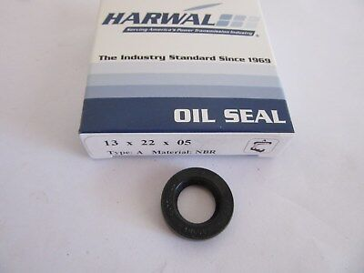 ONE NEW HARWAL 1.250 X 2.000 x .125 NBR Oil Seal Type A