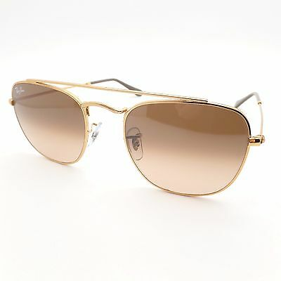 64154ae2e6 Ray Ban 3557 9001 A5 54mm Light Bronze Brown Pink Fade Authentic Sunglasses