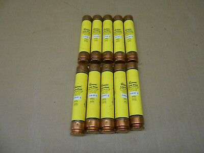 Lot Of 10 New Bussmann Lps-Rk-40Sp Low Peak Time-Delay Fuse 40A 600Vac 300Vdc