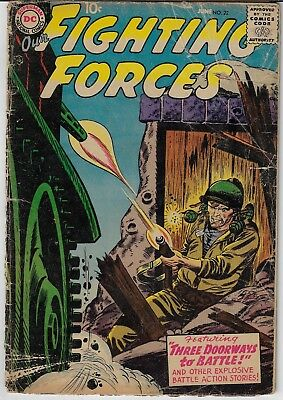 Our Fighting Forces (1957) #22 DC Comics! Silver Age Classic!