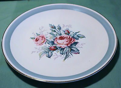 Ridgway Staffordshire Picardy Pattern Sandwich Plate Beautiful Look!!!