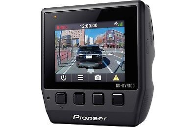Pioneer ND-DVR100 Recorder Dash Cam 1080 HD Camera GPS Tracking Collision Sensor