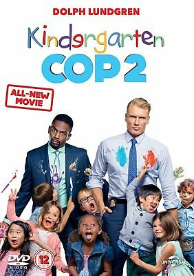 KINDERGARTEN / KINDERGARDEN COP 2 - The Sequel Dolph Lundgren DVD NEW