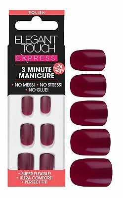 Elegant Touch express faux ongles - Profond baie (24 ongles)