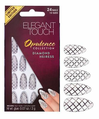 ELEGANT TOUCH FAUX ONGLES - OPULENCE Diamant Heiress (24 ongles)