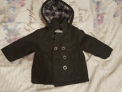 boys mothercare duffle coat 9-12 months