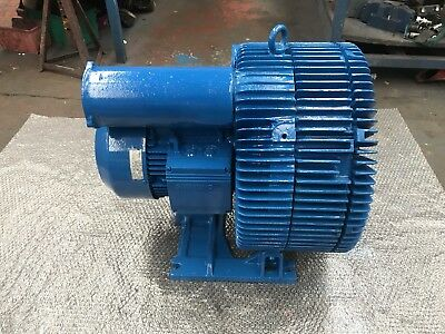 Gardner Denver 7.5kW 2935/rpm 3 PHASE Side Channel Blower Vacuum Pump 400 mbar