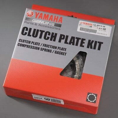 Genuine Yamaha Clutch Plate Kit - Fits 2018 YZ450F - Brand New BR9-W001G-00-00