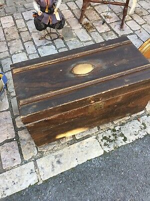 Antique French Solders Trunk