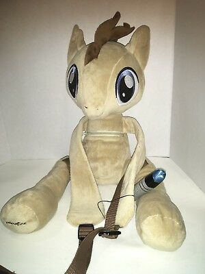 Dr Who Plush Backpack MLP My Little Pony Friendship is Magic Doctor Hooves