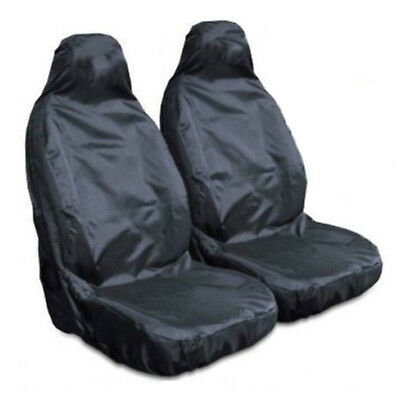 Heavy Duty Front Seat Covers Universal Car Van Waterproof Protectors 3 Colors US