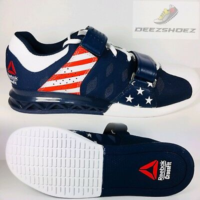 073b22c4fba896 Reebok CrossFit Lifter Plus 2.0 BD3013 Stars and Stripes Womens Us Size 9.5