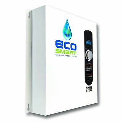 Electric Tankless Water Heater 5.3 GPM House Boiler Instant Demand Hot New FREE