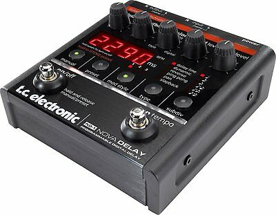 TC Electronic ND-1 Nova Delay Guitar Effects Pedal Programmable Digital Delay