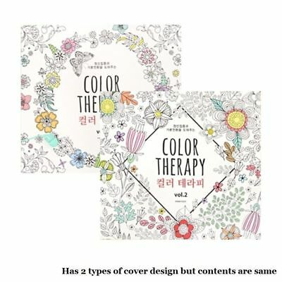 Color Therapy Notebook Coloring Books for Adult Relaxation 96 Different Designs