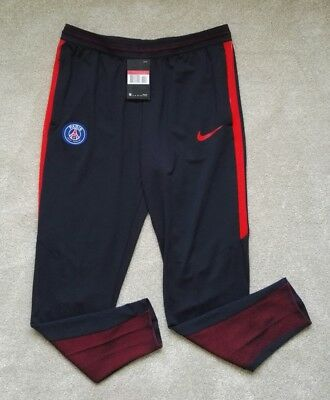 Nike Paris Saint-Germain Strike PSG Track Pants Bottom BrandNew Mens Size Large