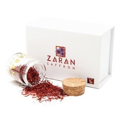 Zaran Saffron | High Quality Persian Saffron (Super Negin) - 1 gram/.035oz