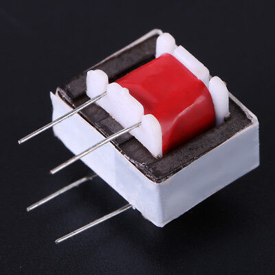 10x Audio Transformers 600:600 Ohm Europe 1:1 EI14 Isolation Transformer Red hot