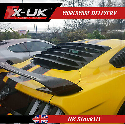 Ford Mustang 2015-2019 PFT style rear window louver