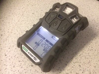 MSA ALTAIR 4x GAS MONITOR (METER ONLY)  + CAL CERTIFICATE AND 12 MONTH WARRANTY