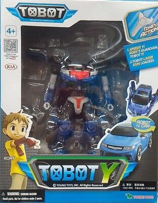 Tobot Y Kory's Guardian Super Poseable Tokey Action Figure