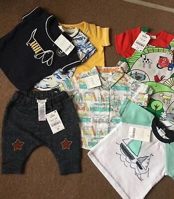 Next Baby Boys Clothes Bundle Bnwt Age Newborn Up To One Month