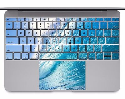 Macbook Pro Air 13 15 keyboard Stickers cover Decal skins waves sea beach KB060