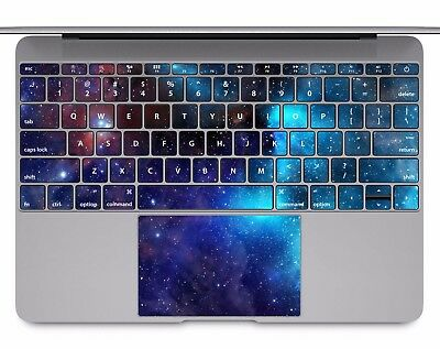 Macbook Pro Air 13 15 keyboard Stickers cover Decal space galaxy stars KB282