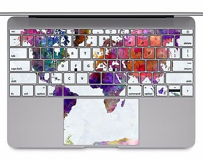 Macbook pro air 13 15 keyboard stickers cover decal skins paint macbook pro air 13 15 keyboard stickers cover decal skins paint world map kb321 gumiabroncs Gallery