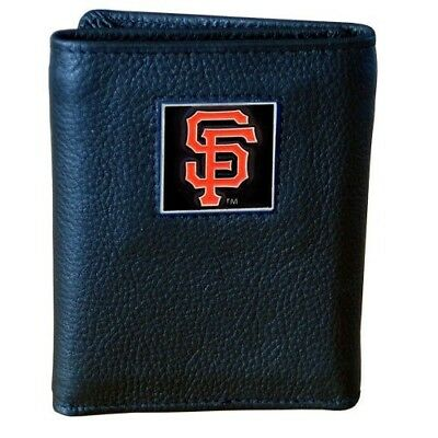 (San Francisco Giants) - MLB Leather Tri-fold Wallet. Siskiyou. Shipping is Free
