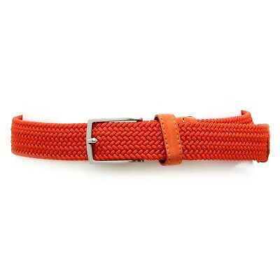 4873V cintura bimbo ASTON MARTIN orange tissue belt boy kid
