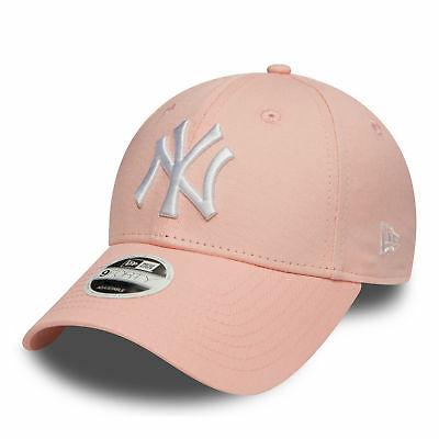 New Era MLB League Essential New York Yankees Cap Pink Lemonade OSFA