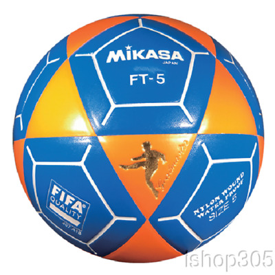 bedb75d26 Mikasa FT5 Goal Master Soccer Ball Size 5 Orange/Blue Official Footvolley  Ball