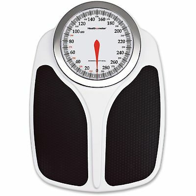 "Health-O-Meter Professional Dial Scale 400lb Cap 17.9""x12.8""x3.7"" BK/WE 145KD41"