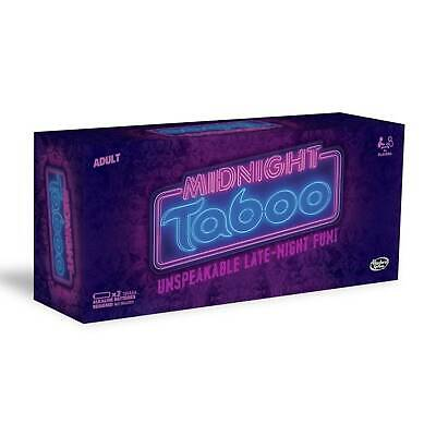 Midnight Taboo Unspeakable Late-Night Fun Adult Card Game by Hasbro // 18+