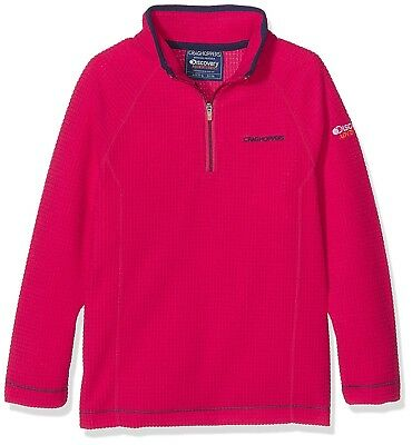 (Size 11 - 12, Dark Electric Pink) - Craghoppers Children's Discovery