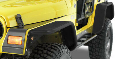Warrior Products S7304-RAW Tube Flare Fender Flare