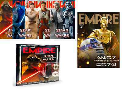 empire magazine 319 January 2016 star wars set of 8 covers all New & Sealed