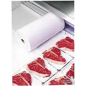 """Sealed Air Cellu Liner Meat/Dairy Case Liner White 250 Feet L x 30"""" W"""