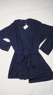 Oh Baby by Motherhood Maternity Blue Robe Size XL Extra Large
