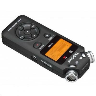 TASCAM DR-05 Portable handheld Digital Audio Recorder Kit with Shotgun Microphon