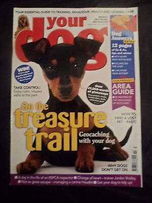 Your Dog Magazine - November 2014 -  Geocaching with your dog