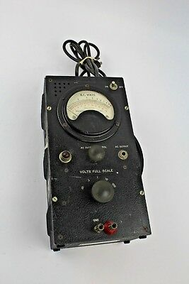 Vintage Ballantine Laboratories Voltmeter Model 300 *