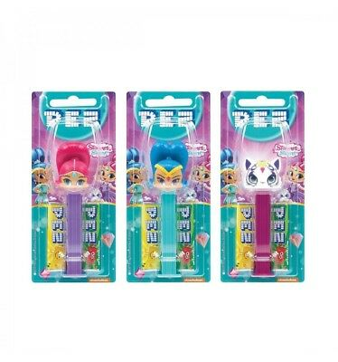 Pez Dispenser Shimmer Shine x 6