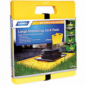 Camco 44541 Large Stabilizer Jack Pad - 2 Pack