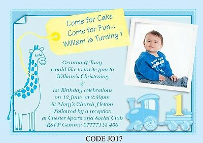 Birthday Christening Joint Invitations Gallery Invitation