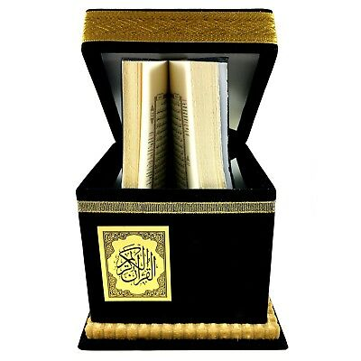 Koran Holy Kaaba Quran Islamic Muslim Mecca Antique Kiswah Gift RAMADAN New box