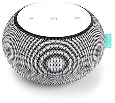 SNOOZ White Noise Sound Machine - Real Fan Inside, Control Via IOS And Android