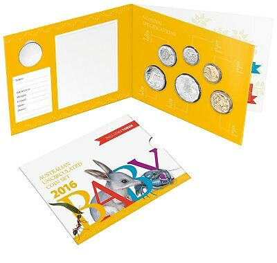 2016 Baby Mint Uncirculated Set From The Alphabet Coin Collection