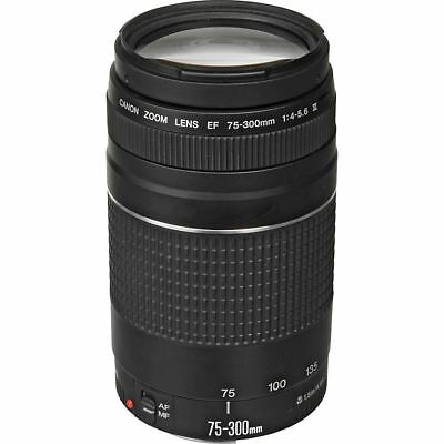 Canon EF 75-300mm f/4.0-5.6 III Zoom Telephoto Lens ZF